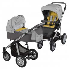 Baby Design Dotty 07 Grey 2017 - Carucior 2 in 1