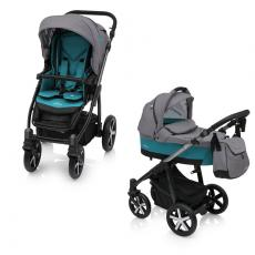 Baby Design Husky Winter Pack 05 Turquoise 2018 - Carucior Multifunctional 2 in 1