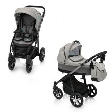 Baby Design Husky Winter Pack 07 Grey 2018 - Carucior Multifunctional 2 in 1