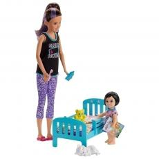 Set Barbie by Mattel Family Skipper Mergem la nani