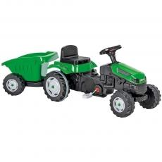 Tractor cu pedale si remorca Pilsan Active with Trailer 07-316 green