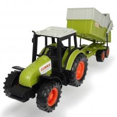 Tractor Dickie Toys Class Celtis 446 RX cu remorca